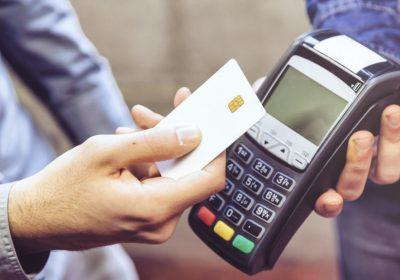 pagar con tarjeta bancaria y contactless